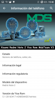Xiaomi Redmi Note 2 -Yios Rom