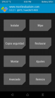 TWRP 3.0.2.1 for Coolpad F2 8675 W00