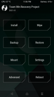 MOTO X PLAY- Recovery TWRP