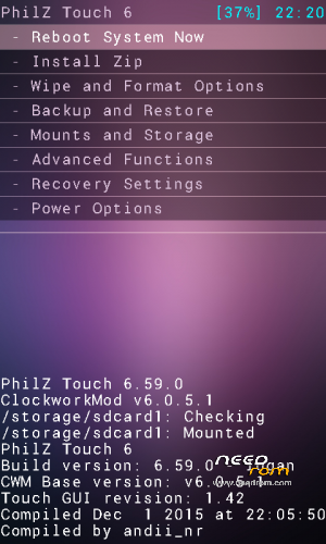 Samsung galaxy s3 gt-i9300 philz touch advanced cwm recovery.