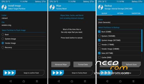 ROM TWRP android 6 0 | [Custom] add the 08/03/2016 on Needrom