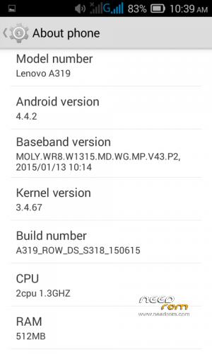 Lenovo a319 « Needrom – Mobile