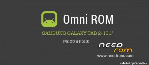ROM OmniRom GT-P5100 Galaxy Tab 2 Multilang Marshmallow | [Custom