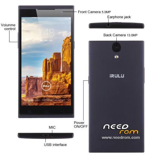 Irulu v1 firmware