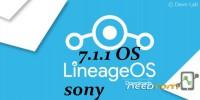 Sony Xperia SP (Huashan)Lineage 14.1