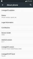 LineageOS 13.0 for Lenovo A536