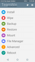 TeamWin Recovery Project 3.0.3-0 (Material) A536