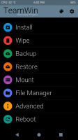 TWRP 3.1.1 Material