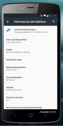ZTE BLADE L2 PLUS | ROM CUSTOM ANDROID 6 0 1 « Needrom – Mobile
