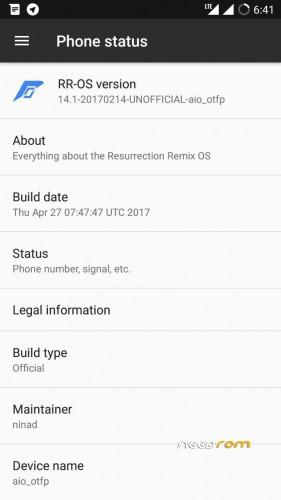 OFFICIAL] RESURRECTION REMIX v5 8 3 for Lenovo K3 Note
