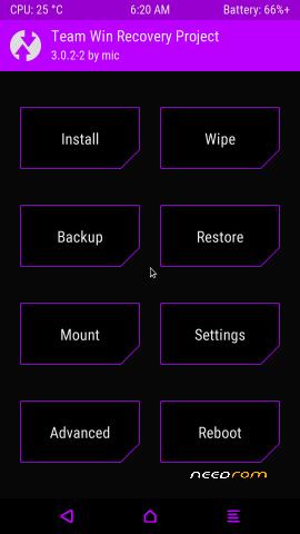 Twrp Recovery для Asus ZenPad
