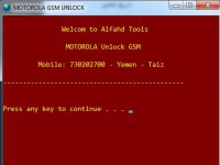 unlock GSM motorola xt1528 xt1526 tool