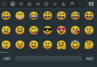 Android O Redesigned Emoji Set