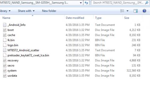 Samsung Core 2 SM-G355H MT6572 NAND Firmware « Needrom – Mobile