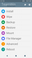 TWRP 3.1.1-0 Recovery For A7000(Material Light)