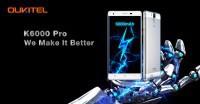 Oukitel K6000 Pro Android 7.0 nougat