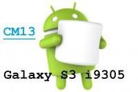 CyanogenMod 13.0 ROM GT-I9305