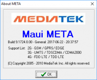 MauiMETA Version 9.1724