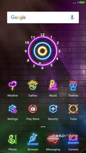 globerom center clock