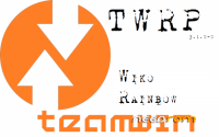 WIKO RAINBOW – TWRP 3.1.0-0 – MULTILANGUAGE -