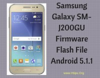 GALAXY J2 / SM-J200GU Official Samsung Firmware