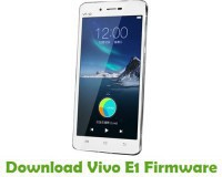 Vivo E1 MT6573 Firmware