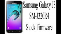 GALAXY J3 / SM-J320R4 Official Samsung Firmware