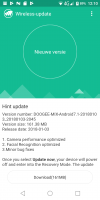 DOOGEE Mix 2 – Update 2045