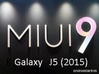 Galaxy-j5(2015) Miui-v9