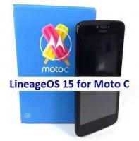 LineageOS 15 for Moto C 14/5/2018