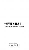 HYUNDAI MAESTRO HDT 7427G