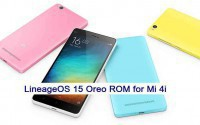 LineageOS 15 for Mi 4i