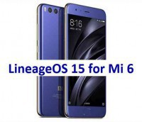 LineageOS 15 for Mi 6 14/5/2018
