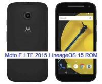 LineageOS 15.1for Moto E 2015 LTE 14/5/2018