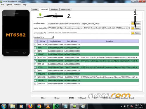 Frimware Rom MIUI 9 v9 2 2 WIth SPflashtool « Needrom – Mobile