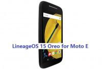 LineageOS 15 for Moto E 1st gen 14/5/2018