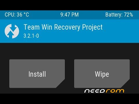 ROM TWRP 3 2 1 by Jemmini | [Custom]-[Updated] add the 05/25/2018 on