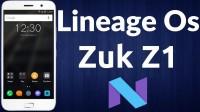 Lineage OS for Lenovo ZUK Z1