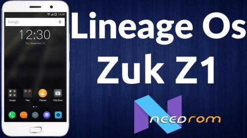 Lineage OS for Lenovo ZUK Z1 « Needrom – Mobile