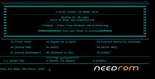 redmi S2/Y2 toolkit « Needrom – Mobile
