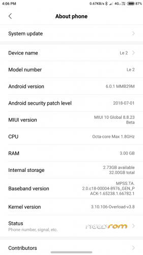 MIUI 10 Global 8 8 23 [Stable] « Needrom – Mobile