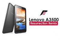 Lenovo A3500 FL Resurrection Remix ROM