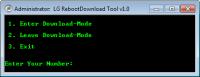 LG RebootDownload Tool