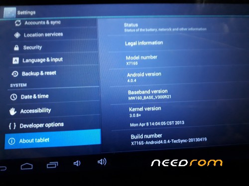 ROM XTOUCH X716S CHINA TAB 1000% TESTED FLASH FILE WITH TOOL