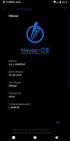 Havoc-OS v2.6 from 11.06.2019, by L-RoMDev for Xiaomi Redmi 5 Plus