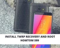 TWRP Homtom S99