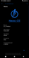 Havoc-OS v2.6 from 15.06.2019, by L-RoMDev for Xiaomi Redmi Note 7
