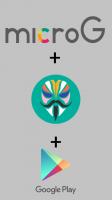 MicroG + Magisk + Play Store