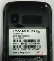 Symphony L25i HW7